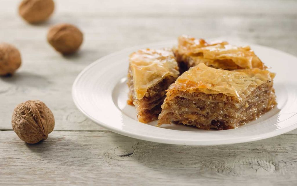 Cyprus Food: Baklava