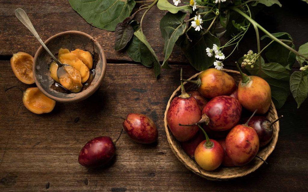 Ecuadorian food: dulce de tomate de arbol - tree tomato sweets