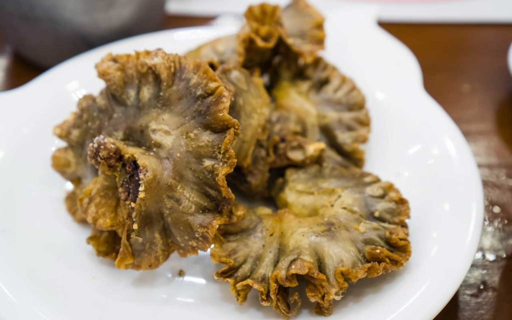 Filipino food: Chicharon bulaklak