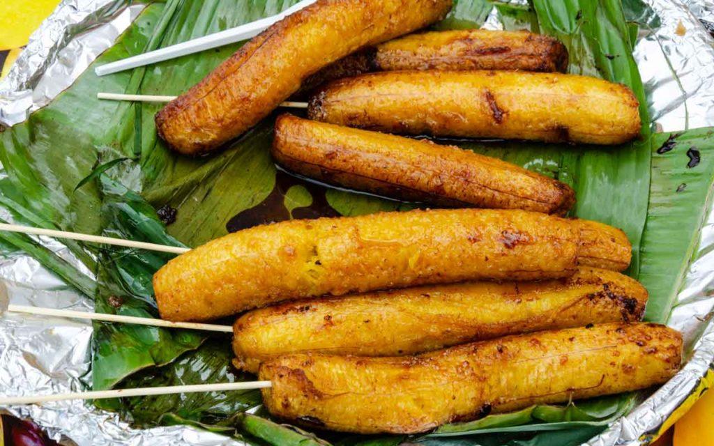 Filipino food: Banana Cue