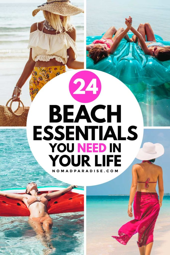 24 Must-Have Beach Essentials