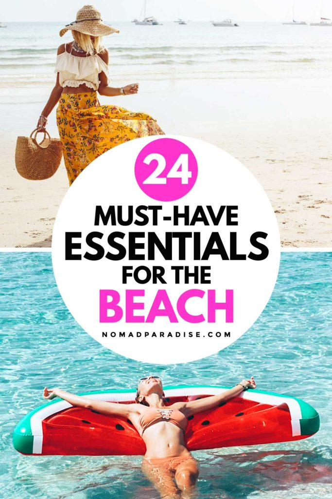 24 Must-Have Beach Gear Essentials