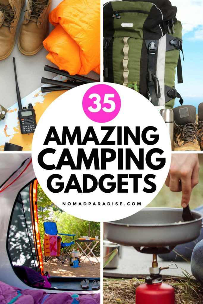 35 Amazing Camping Gadgets