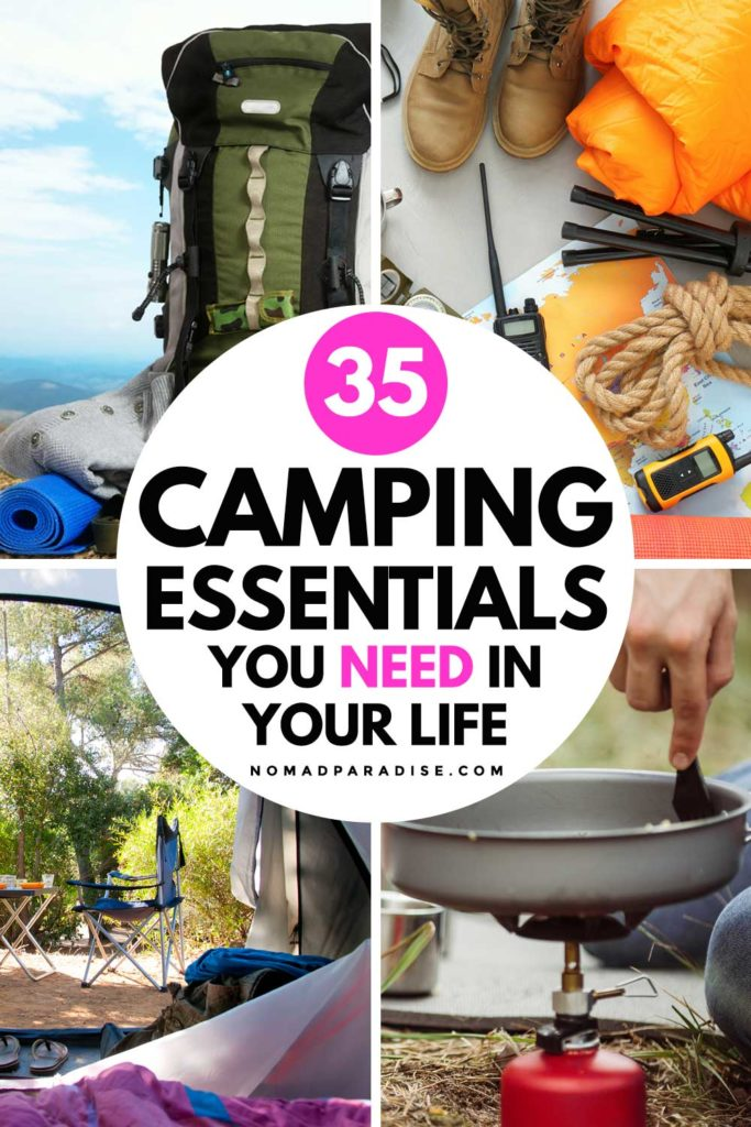 35 Camping Essentials You Need in Your Life
