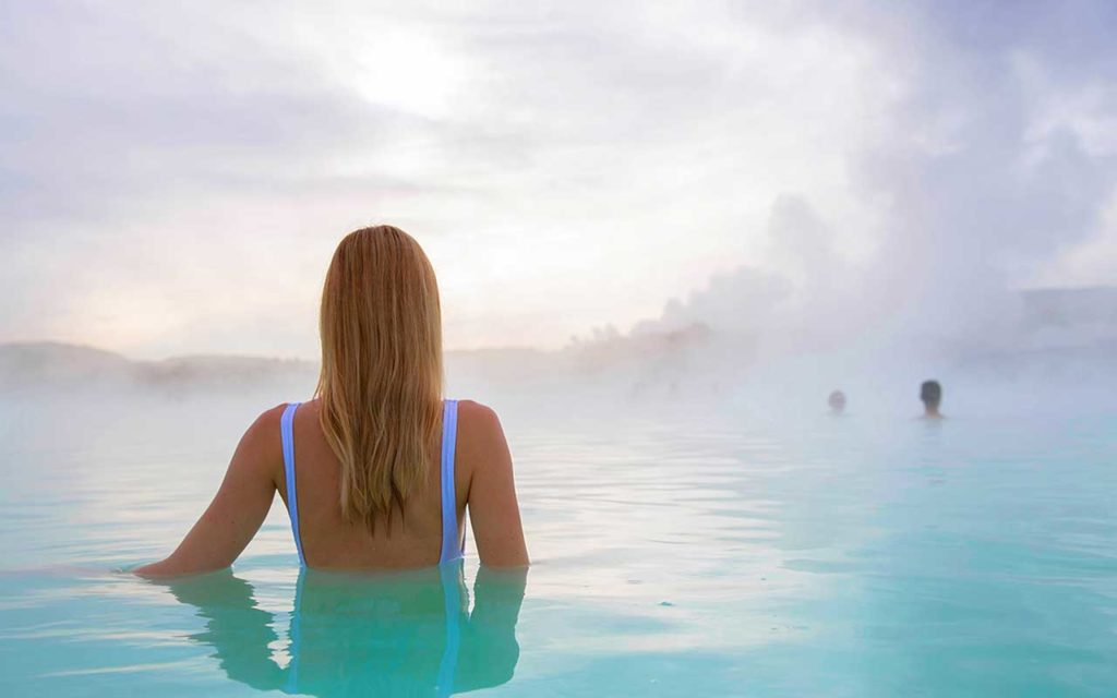 solo female travel blue lagoon