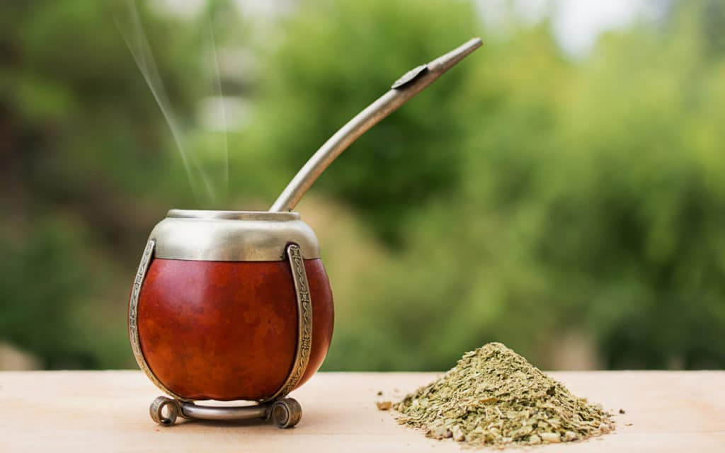 "Uruguayan drink: The Mate / ""Herb infusion"" tea"