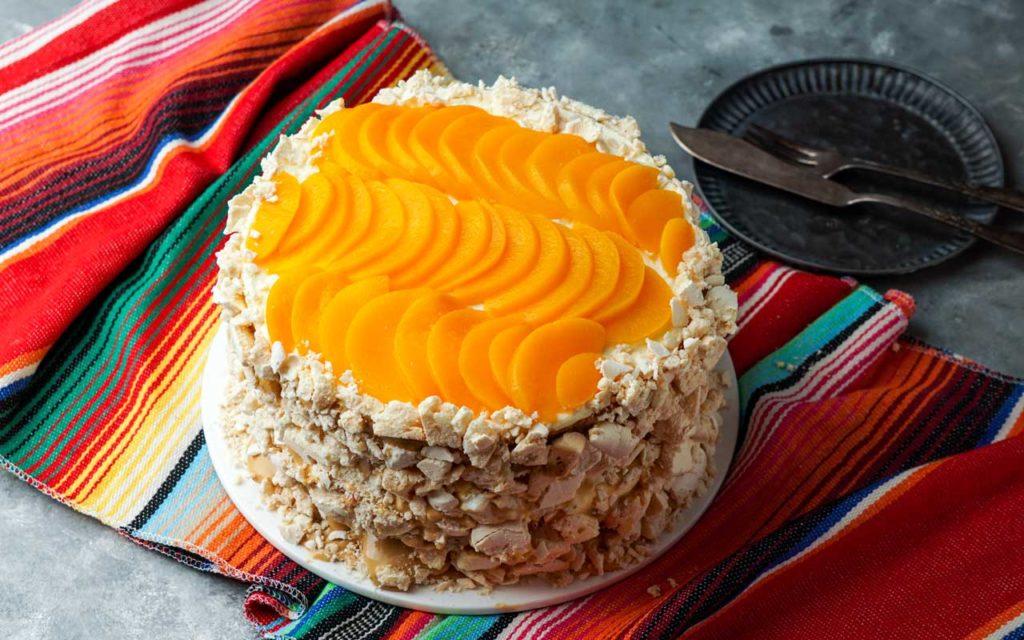 """Uruguayan Dessert: Chaja / """"Cake Chaja"""""""