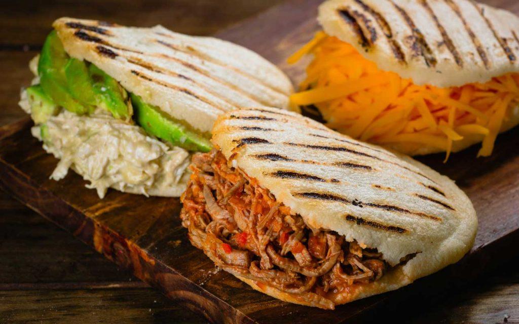 Venezuelan Food: Arepa – Corn round bread