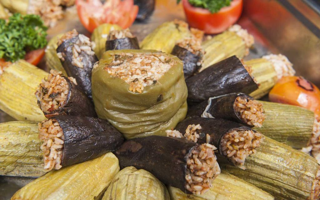 Algerian Food: Dolma – Various Vegetables Stuffed with Meat