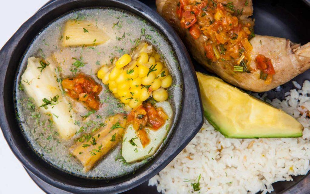 Colombian soup: Sancocho (Chicken/Beef/Fish Soup)