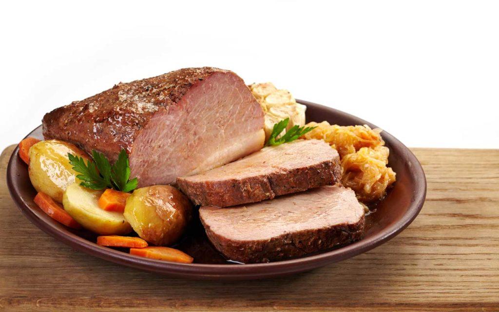 Estonian Food: Pork Roast with Sauerkraut – Seapraad ja Hautatud Hapukapsad
