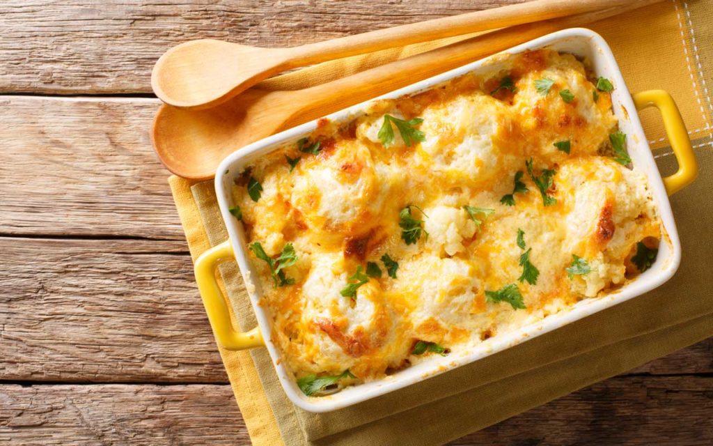 Estonian Food: Cauliflower with Cheese – Lillkapsas Juustukastmes