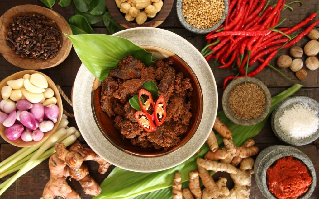 Indonesian Food: Rendang (Spicy Beef Stew)