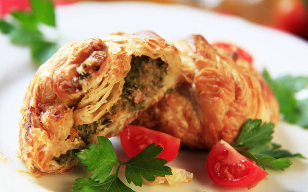 Pastizzi – Savory Cheese or Pea Cakes