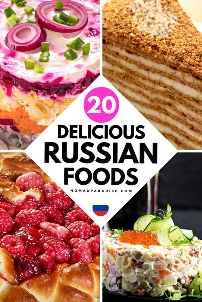 20 Delicious Russian Foods