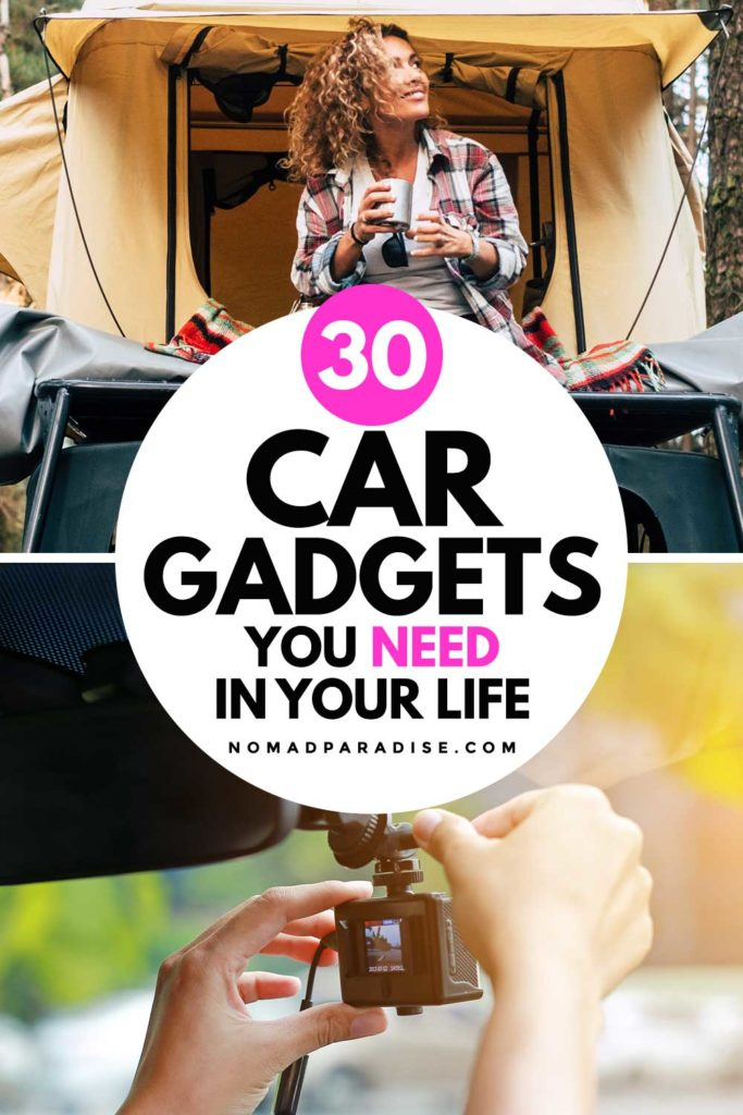 30 Car Gadgets You Need in Your Life