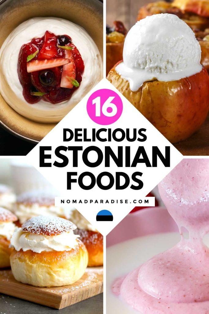 16 Delicious Estonian Foods