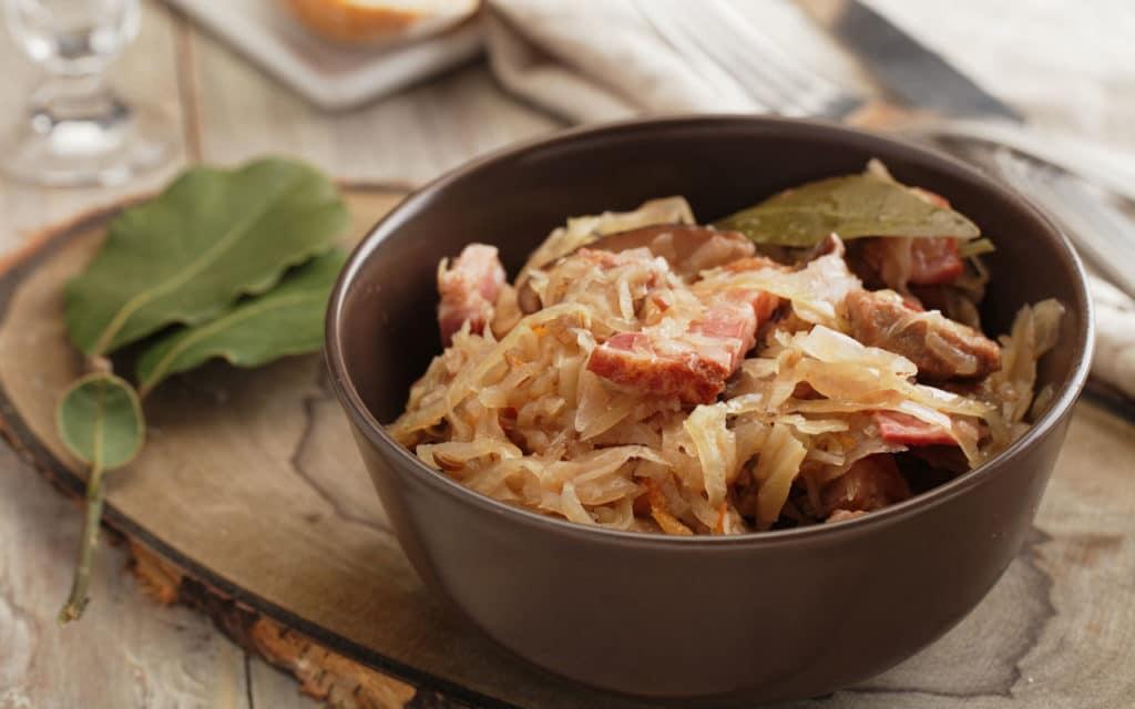 Polish Food: Hunter's Stew (Bigos)