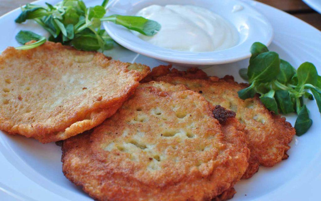 Polish Food: Potato Pancakes (Placki Ziemniaczane)