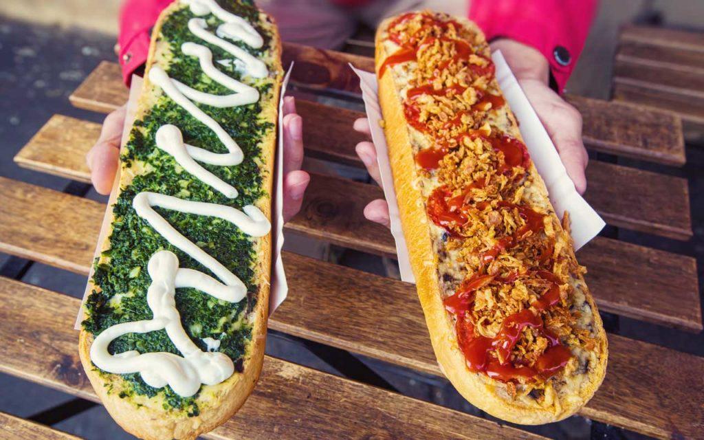 Polish Street Food: Open-Faced Sandwiches (Zapiekanki)