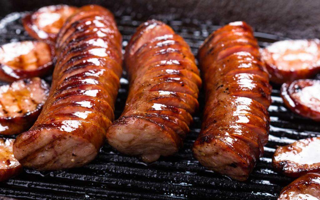 Polish Food: Polish Sausage (Kiełbasa)