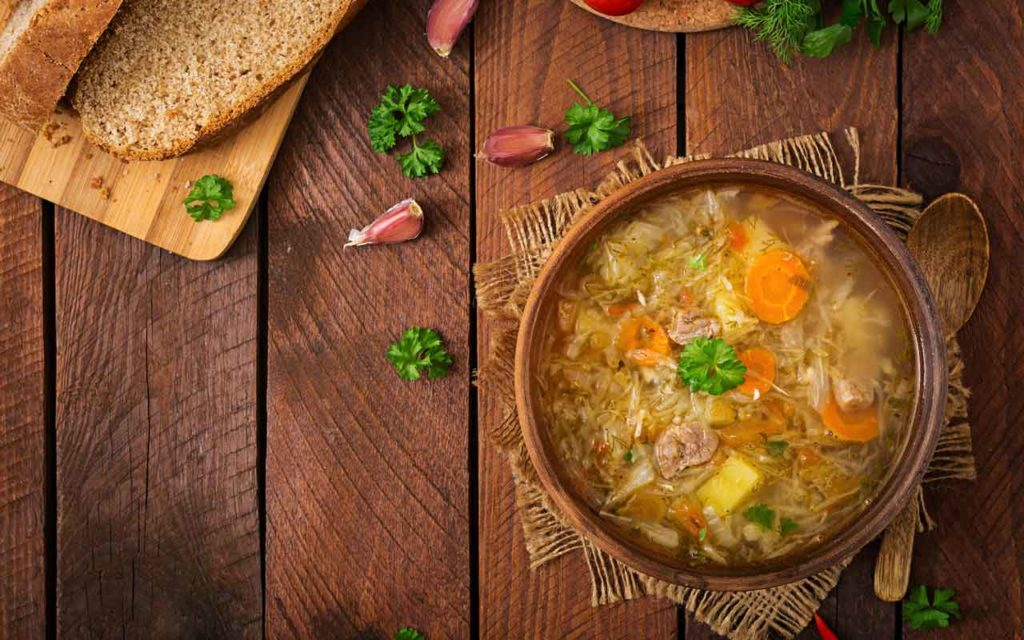 Russian Food: Shi (Щи) – Cabbage Soup