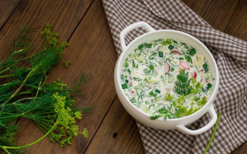 Russian Food: Okroshka (Окрошка) – Cold Summer Soup