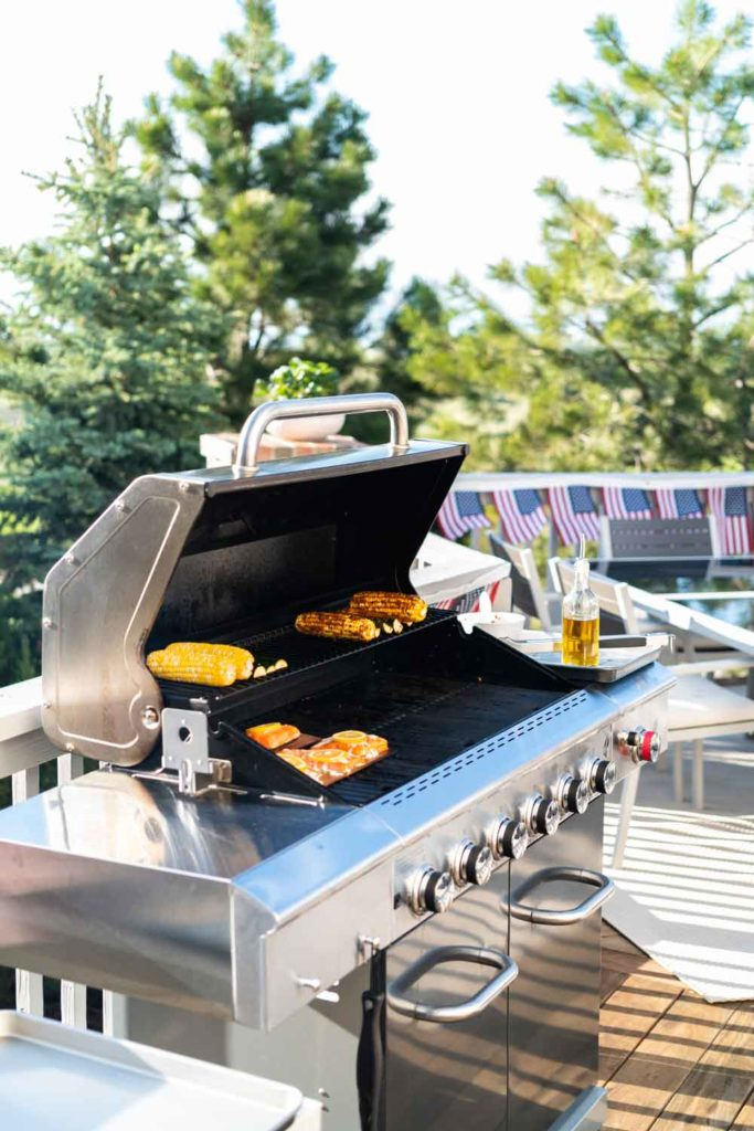 Staycation idea: grilling outdoors