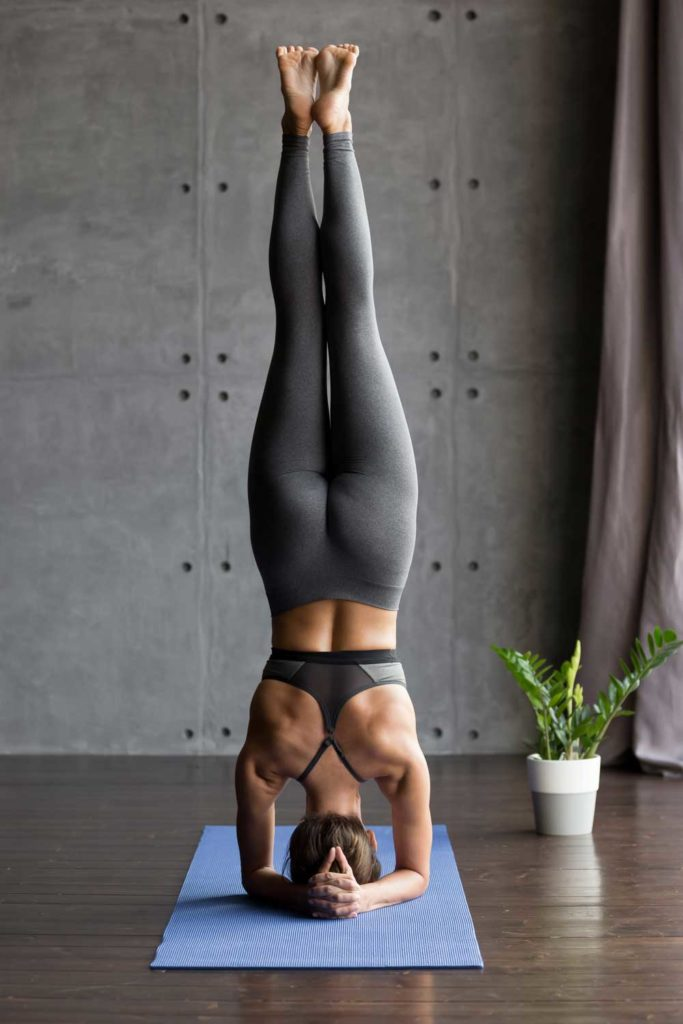 Staycation idea: yoga at home