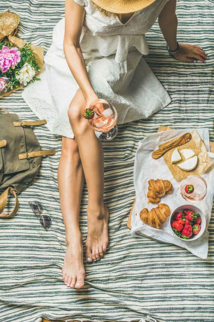 Staycation idea: Indoor picnic