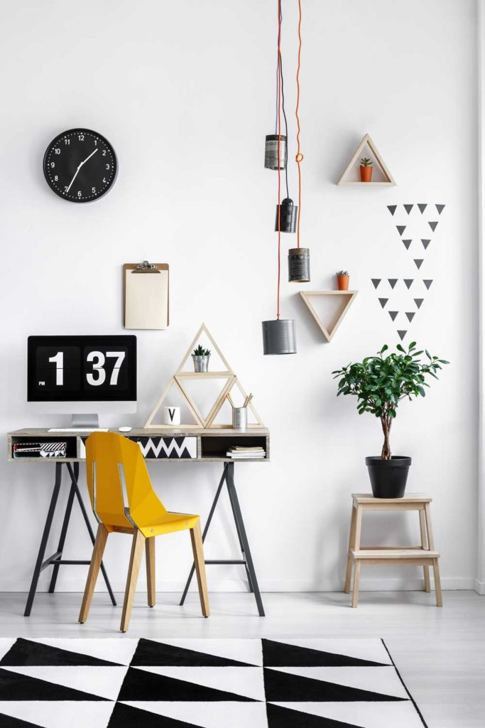 Staycation idea: home office redecorating