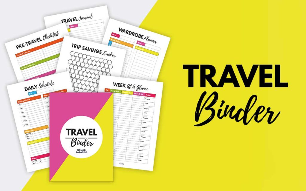 Travel Binder
