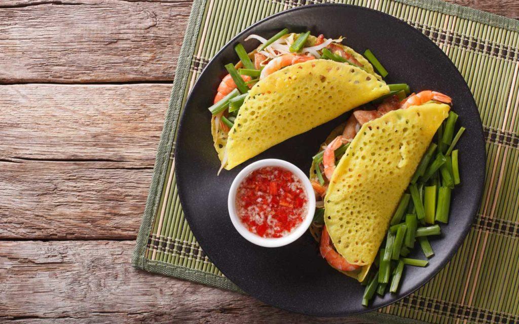 Vietnamese Food: Bánh Xèo – Vietnamese Crepe