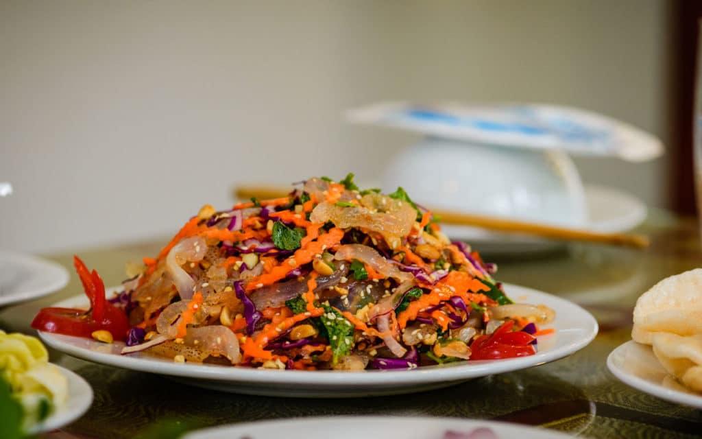 Vietnamese Food: Gỏi Sứa – Jellyfish Salad