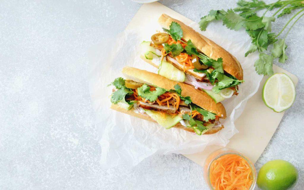 Vietnamese Food: Bánh Mì - Vietnamese Baguette