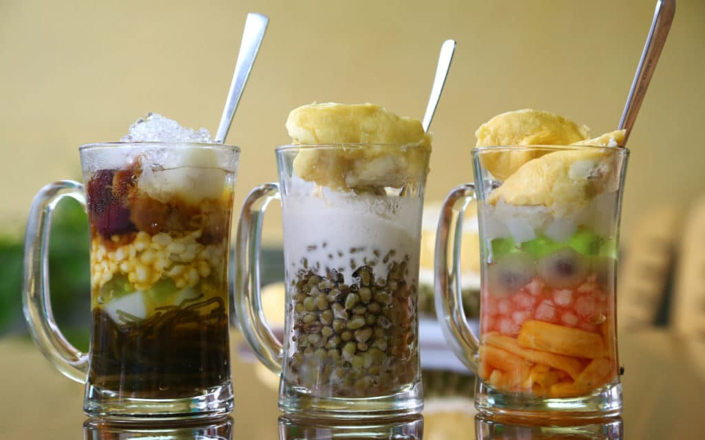 Vietnamese Food / Dessert: Chè Thái – Thailand Fruit Cocktail