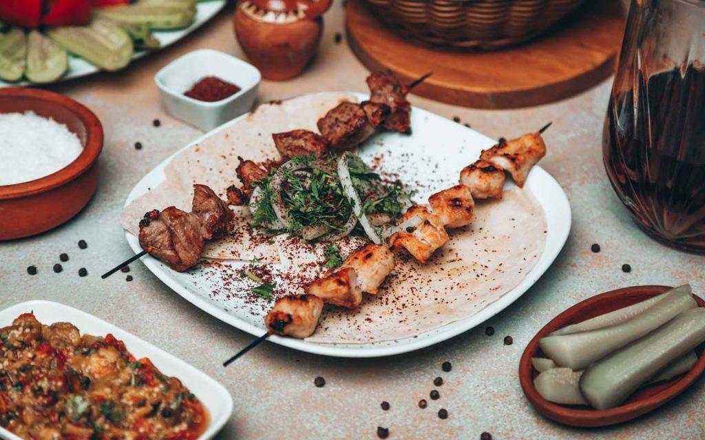 Azerbaijani Food: Kebab/Kebap – Azerbaijani Kebab