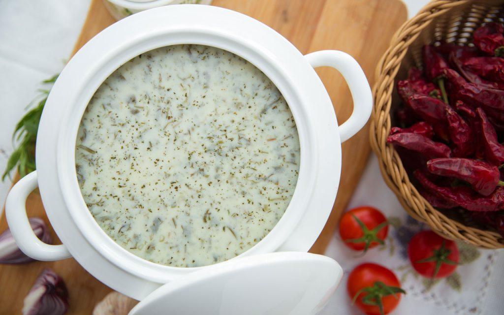 Azerbaijani Food: Dovga – Yoghurt Soup