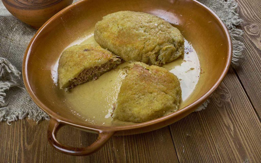 Belarusian food: Kalduni / Калдуны