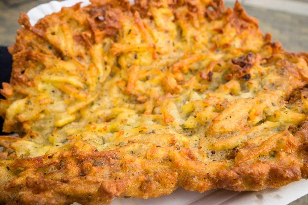 Czech food: Bramboráky
