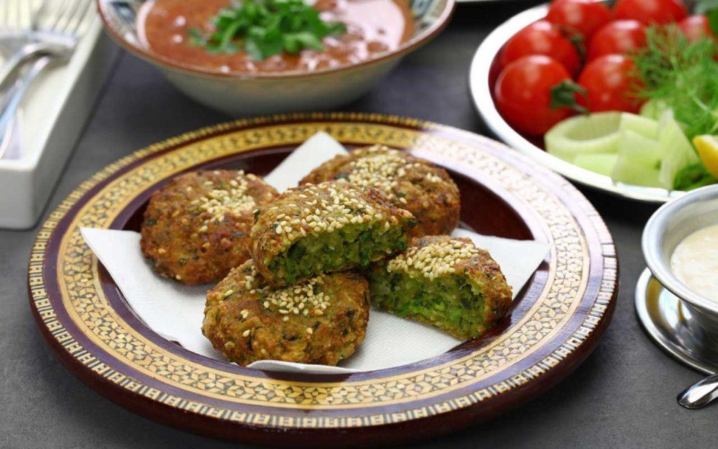 Egyptian Food: falafel