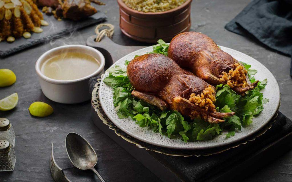 Egyptian Food: Hamam Mahshi (Stuffed Pigeons)