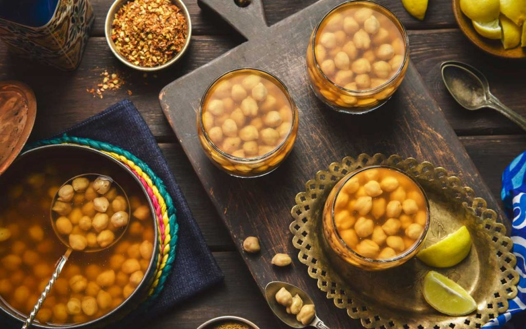 Egyptian Food: Halabesa (Chickpea Soup)