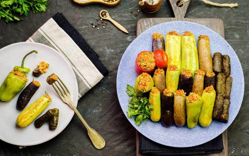 Egyptian Food: Mahshy (Stuffed Veggies)