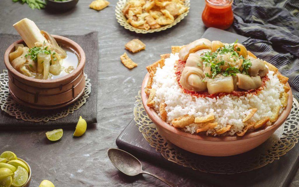 Egyptian Food: Kawaree (Cow feet)