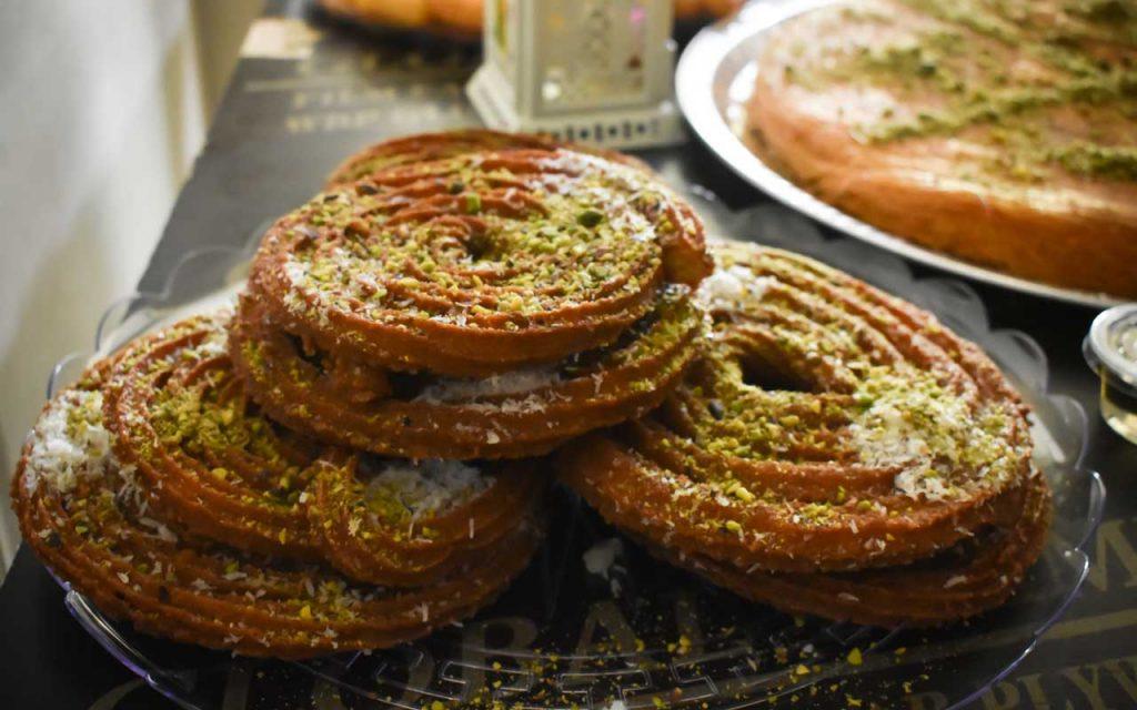 Egyptian Dessert: Meshabek (Egyptian Funnel Cake)