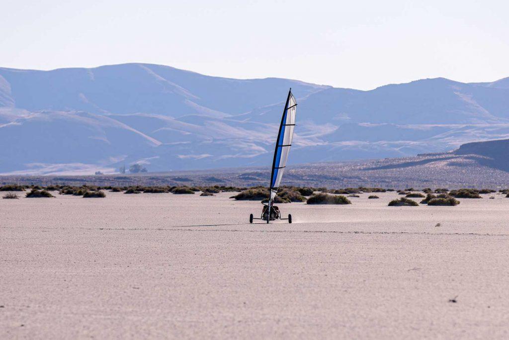 Extreme Sport: Land Windsurfing