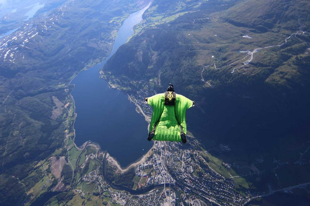 Extreme Sport: Wingsuit Flying