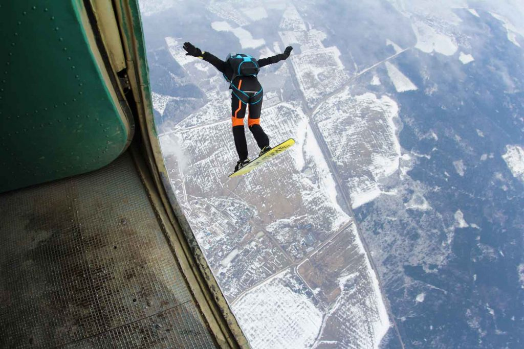 Extreme Sport: Skysurfing