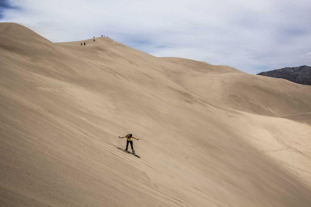 Extreme Sport: Sandboarding